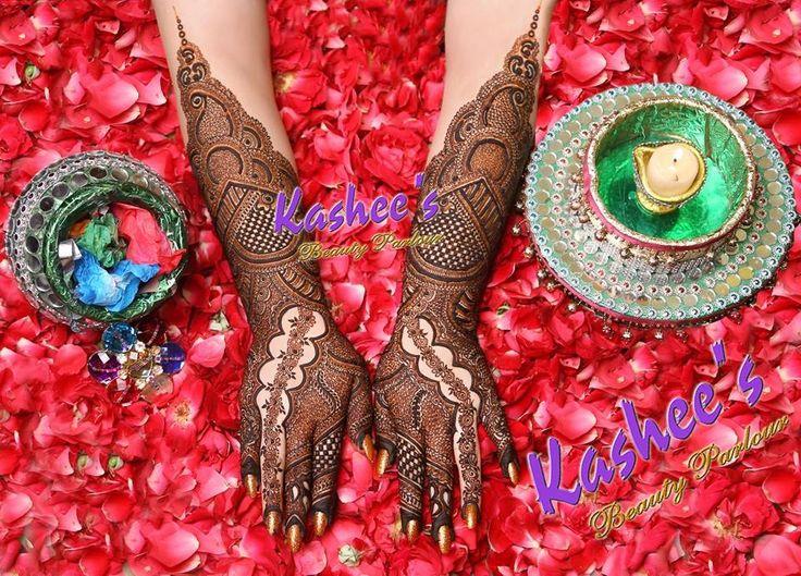 Beautiful, Awesome Bridal Mehndi Design By Kashee 's
