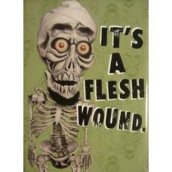 17 images about achmed on pinterest legends comedy for Flesh wound tattoo