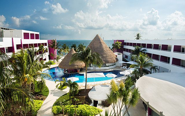 Cancun Vacations - Newly Renovated: Temptation Cancun Resort - Adults Only - All-Inclusive - Temptation Resort and Spa Cancun, The Playground for Grown-Ups, caters to adults only (21+), offering a vibrant and passion-infused environment for the chic, the confident and the free-spirited traveler.