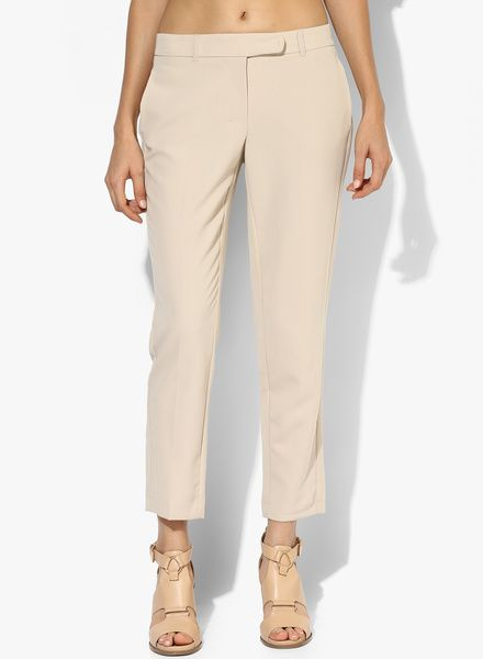 Buy Dorothy Perkins Stone Ankle Grazer Trouser for Women Online India, Best Prices, Reviews   DO102WA82PQRINDFAS