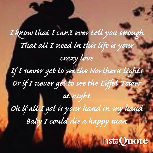 Upbeat Country Love Songs: All I Need In This Life Is Your Crazy Love