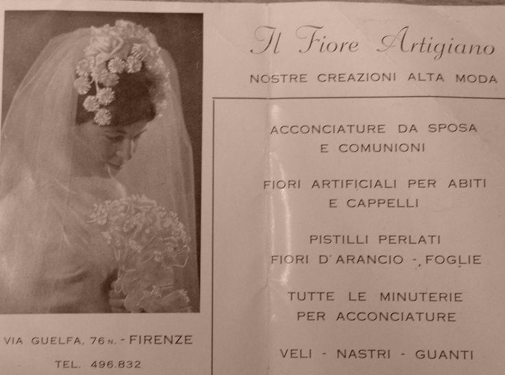 E continua così, 1962 #shareflorence #ilfioreartigiano #lanostrastoria