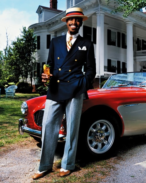 Dripping with Swaggu ...amazing clothes, great pic (Andre 3000)