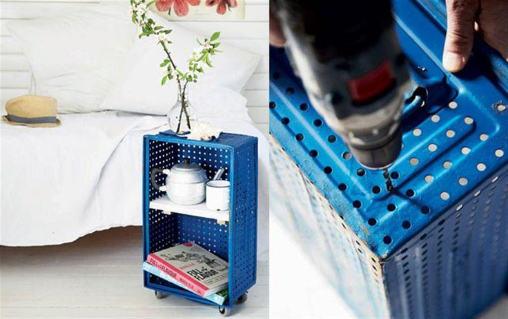 DIY: Fra kedelig kasse til cool sidebord