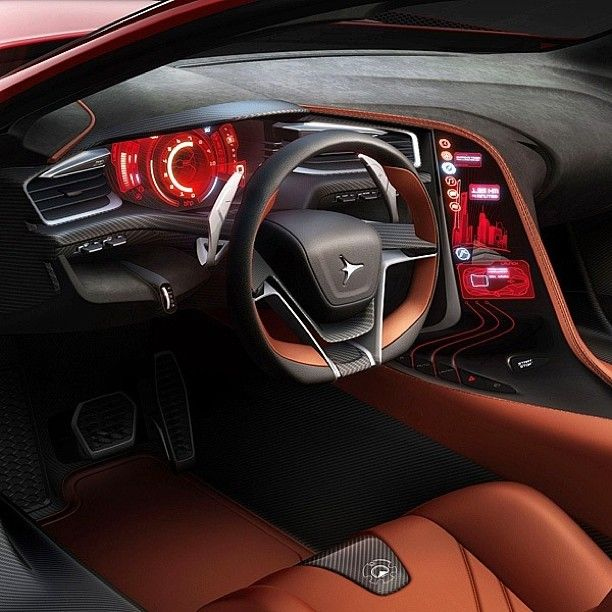 69 Best Images About Car Interior Concept On Pinterest
