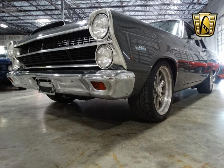 The 66, and 67 Fairlane was the fifth generation, and some minor trim changes were introduced for 1967 as the Fairlane was mildly facelifted. Under the hood, the 351 Windsor V8 is backed with a 5spd manual transmission and has Hedmen headers, a Holley carburetor, Edelbrock intake manifold, and Cherry Bomb Turbo exhaust system. | eBay!