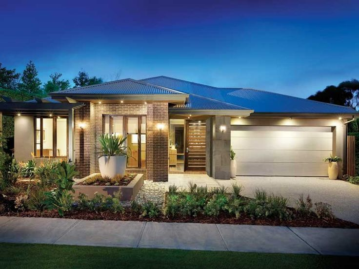 Photo of a house exterior design from a real Australian house - House Facade photo 1295636