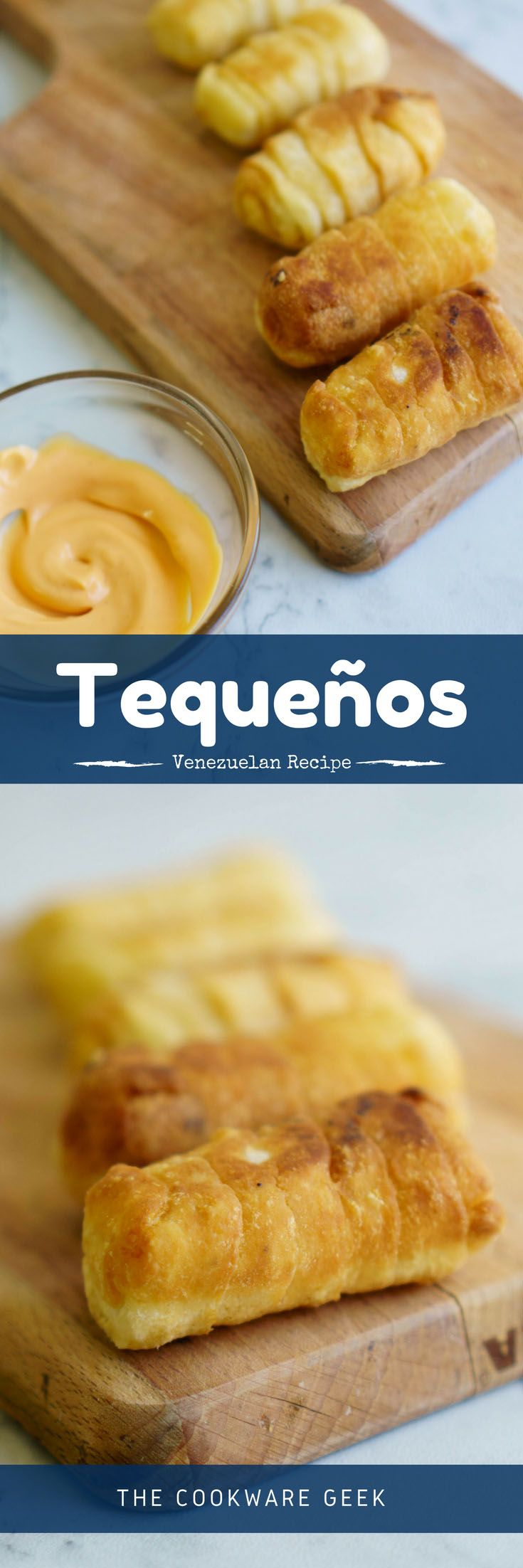 How to Make Tequeños (Venezuelan Cheese Sticks) - The most famous Venezuelan appetizer: Tequeños! Learn how to make   tequeños with this simple recipe step by step (+ instructional video) | The Cookware Geek