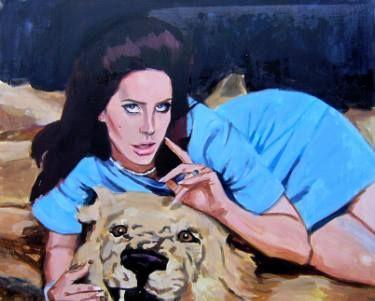 "Saatchi Art Artist Helena Janecic; Painting, ""Tell me I'm your national anthem"" #art"