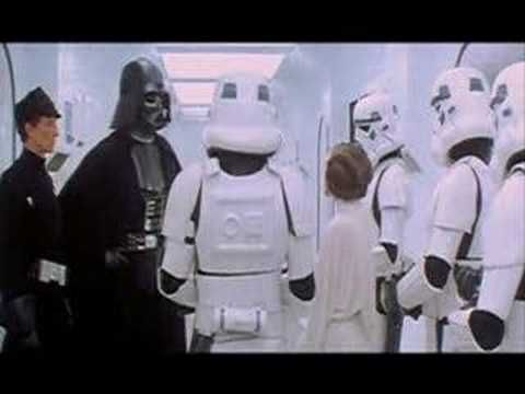 Darth Vader's Voice Before Voice Over
