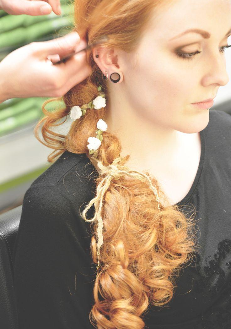 sommerlicher Hippie-Styl von Stylistin Kathi. Hair&Beauty Hagemann in Bonn