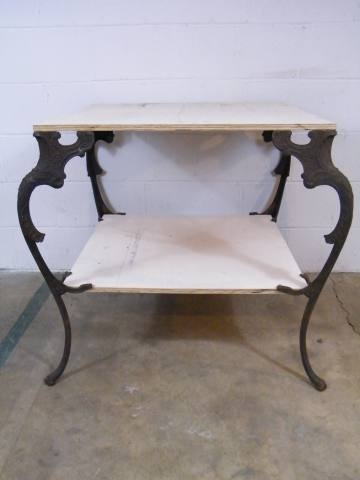 Lovely Columbus Architectural Salvage   Set Of Ornate Cast Metal Table Legs