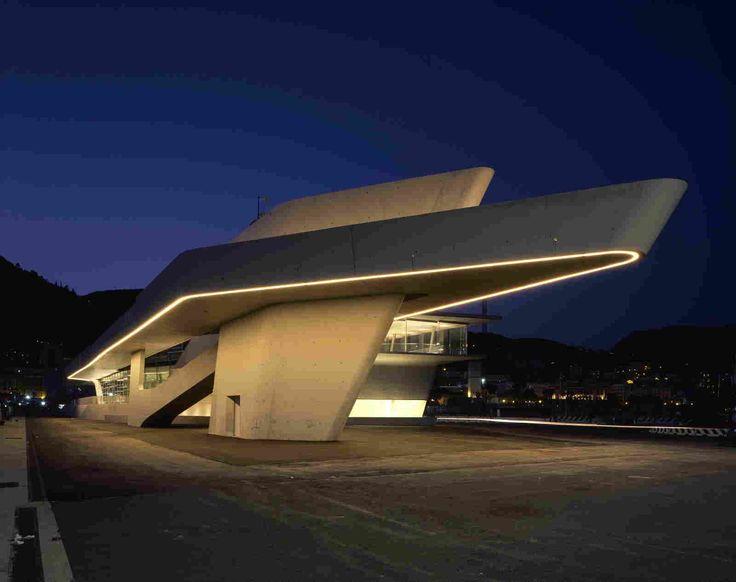 Терминал в порту Салерно от Zaha Hadid Architects