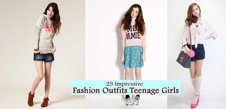 25 beeindruckende Mode-Outfits für Mädchen im Teenageralter