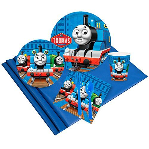 Thomas the Train Party Supplies - Party Pack for 24