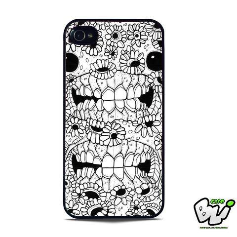 Skeleton Flower Sun Art iPhone 5   iPhone 5S Case