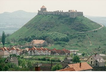 Hungarian King Bela ordered the construction of Sumeg castle around 1250. This castle is very close to Lake Balaton.