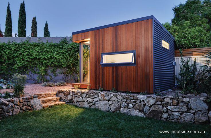 Outdoor retreat prefab studio
