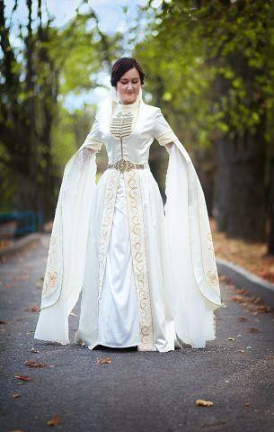 Армянское национальное свадебное платье