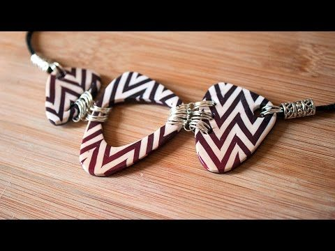 ✖ I N F O R M A T I O N S ✖ [TUTO] Motif Chevron - Collier Géométrique - Polymer Clay Follow me on my English Channel: https://www.youtube.com/channel/UC8sRP...