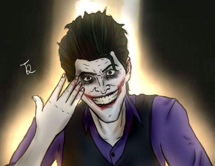 Joker ( John Doe ) art from batman the enemy within by the devilish duke (from the batman telltale amino)