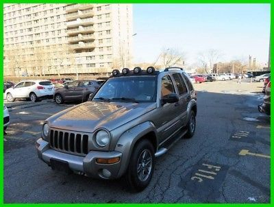 eBay: 2002 Jeep Liberty Renegade 4dr 4WD SUV 2002 Renegade 4dr 4WD SUV Used 3.7L V6 12V Automatic 4WD SUV #jeep #jeeplife