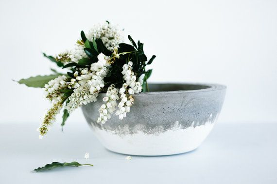Hey, I found this really awesome Etsy listing at https://www.etsy.com/listing/222933210/concrete-bowl-planter-bowl-large