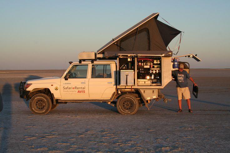 Setting quick and easy - Alu-Cab, Botswana