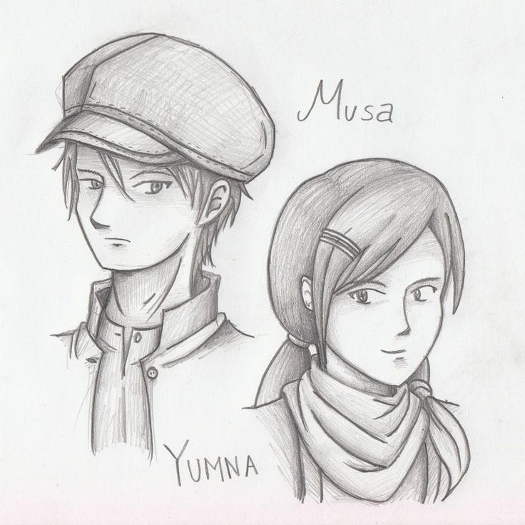 Musa dan Yumna by Muhammad Giffary (Garry)