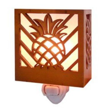 Tropical Night Light Pineapple
