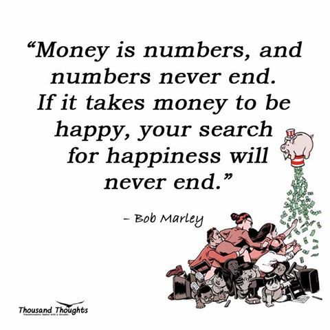 A Powerful Reminder Money Is Numbers And Numbers Never End If