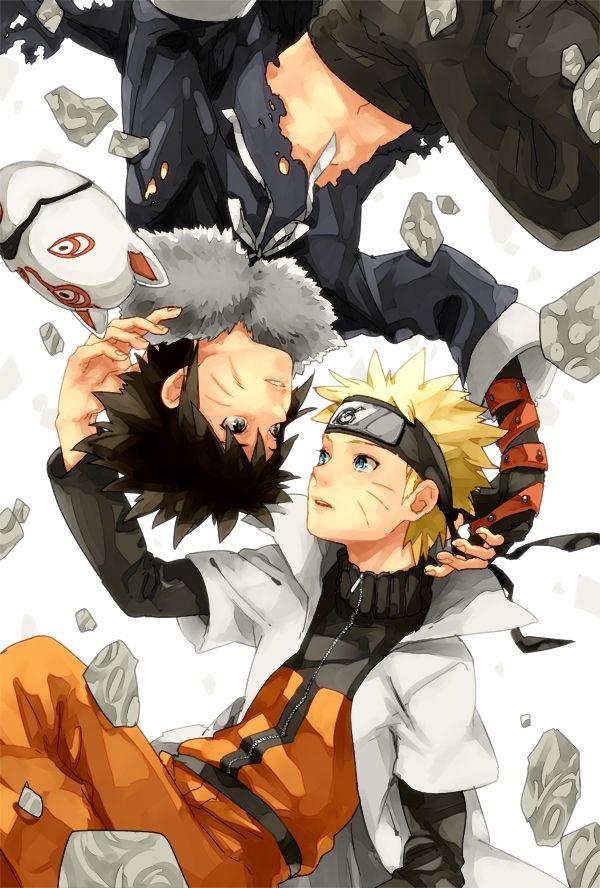 kumamimi (Pixiv364467), Naruto the Movie: Road to Ninja, NARUTO, Uzumaki Naruto, Menma (Naruto The Movie: Road To Ninja)