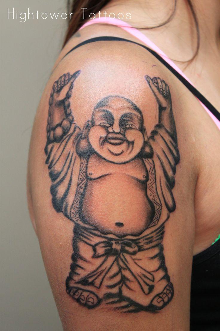 Happy+Buddha+Tattoo++ArterialArt