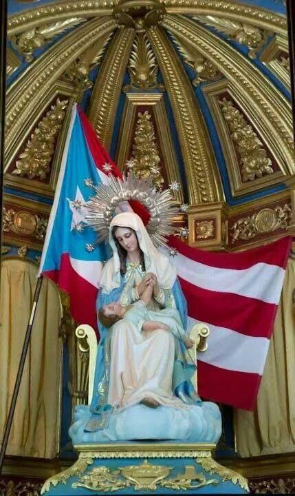 Virgen de la divina providencia. en Puerto Rico. | Virgen ...