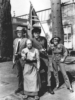 The Beverly Hillbillies.....the zany adventures of Granny, Jed, Jetro, and Ellie Mae..I loved this show!!!!
