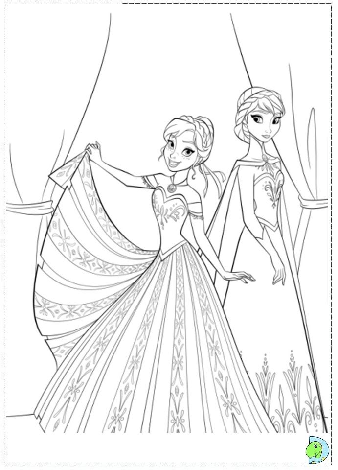 the two sisters anna and elsa dont always get along enjoy this disney frozen coloring sheet