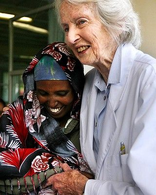 Dr Catherine Hamlin: 1958  obstetrician, gynaecologist  & midwifery school In Ethiopia. Hamlin witnessed obstetric fistula. In Ethiopia it lead to women being outcast from society, living in excruciating pain. Many cases arrived so she created a hospital dedicated restoring women's lives. Addis Ababa Fistula Hospital gives womens lives back, they travel from around the country to visit. Hamlin never returned home full-time, at age 89 she still operates & works in the hospital.