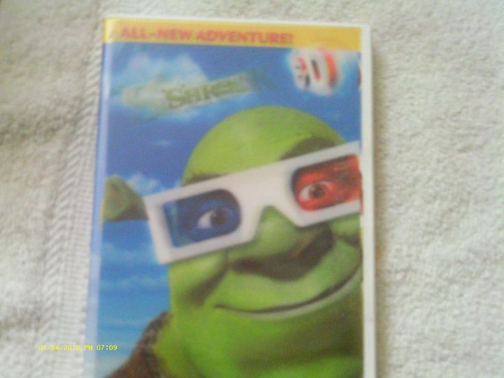 Shrek 3D - All New Adventure! DVD