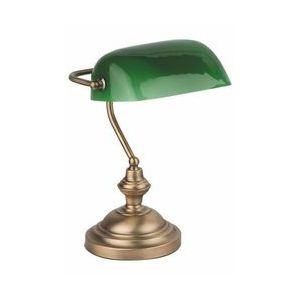 Lampe de table Faro Banker-2 bronze