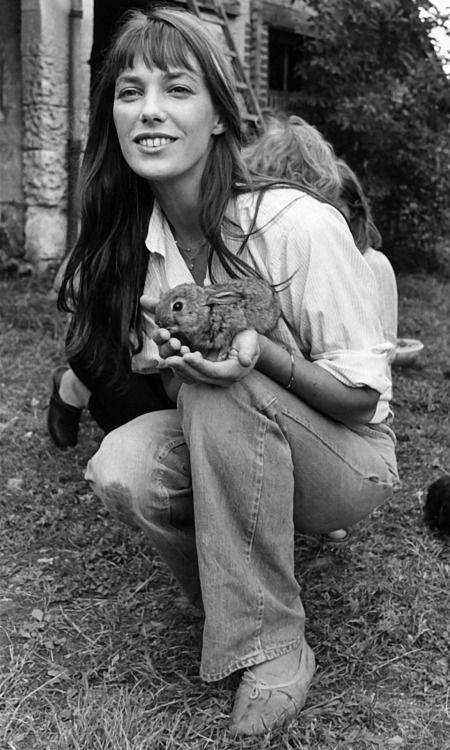 Jane with bunny.