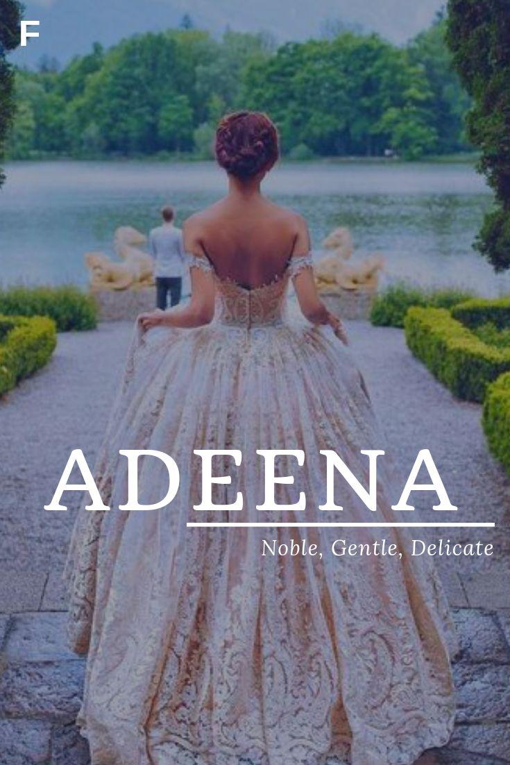 Adeena, wat Noble, Gentle, Delicate, Hebreeuwse namen betekent, een baby meisjesnamen, een baby …