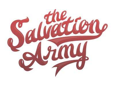 The salvation army script // #Calligraphy #Design