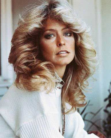 Everyone wanted to have Farrah Fawcett's hairstyle
