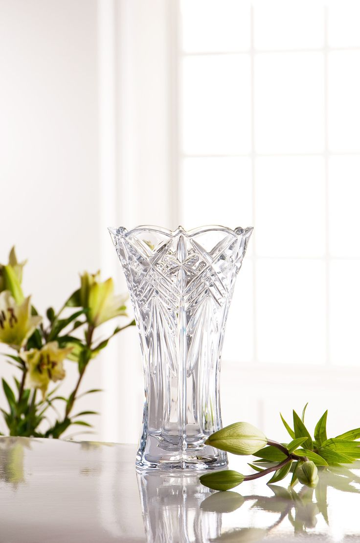 """The Wishlist Gifts - Symphony 10"""" Crystal Vase Galway   Was €55.00 NOW €27.50"""