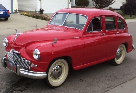 Standard Vanguard Beetleback 1951.