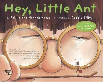What would you do if the ant you were about to step on looked up and started talking? Would you stop and listen? What if your friends saw you hesitate? That s what happens in this funny, thought-provoking book. Originally a song by a father-daughter team, this conversation between two creatures, large and small, is bound to inspire important discussions. It might even answer that classic childhood question: To squish or not to squish?""