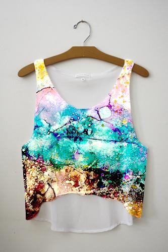 Watercolor Tie Dye, Obsessed!