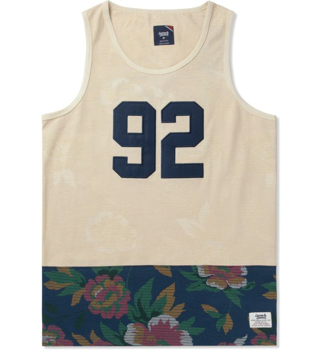 Lemar & Dauley Antique White Thrift Store Tank Top   HYPEBEAST Store. Shop Online for Men's Fashion, Streetwear, Sneakers, Accessories