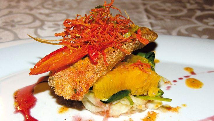 """""""La triglia croccante"""" dello chef Michele Deleo  #lamadia #lamadiatravelfood #food"""