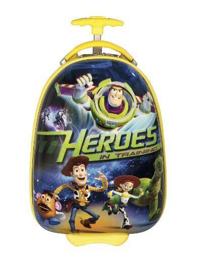 NUR SOLANGE DER VORRAT REICHT ... EINMALIGES ANGEBOT ... 150 Euro SPAREN ... PREMIUM DESIGNER Hartschalen Koffer - Heys Disney Toy Story - toll f�r Kinder - 2 Jahre Heys Garantie
